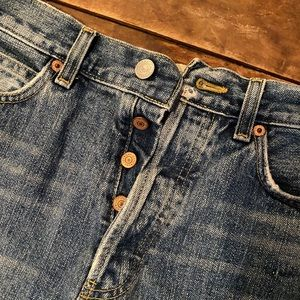 BOY FIT jean shorts by GAP.... just like NEW!